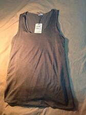 NWT Women Transit Par Such Taupe Tank Top. Size - M. Made In Italy.