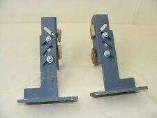 2 Winkel links u. rechts, für Rolltor oder ähnliches Trägerwinkel Schwerlast