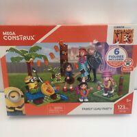 Mega Construx Despicable Me 3 Family Luau Party Building Set