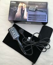 BABYLISS 2440BDU DIAMOND HEATED SMOOTHING & STRAIGHTENING BRUSH USED ONCE