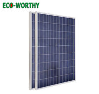 ECO 200Watt Solar Panels -2x100W 18V PV Solar Panel 12V RV Home Battery Charge
