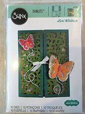 Sizzix Thinlits Dies Gatefold Butterflies Card by Lori Whitlock 10 Dies 661390
