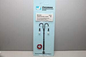 Viessmann 6703 Kit Arched Lamp 2-flammig Gauge H0 Boxed