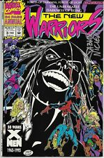 The New Warriors Annual #3 Signed by Fabian Nicieza - Marvel Comics -