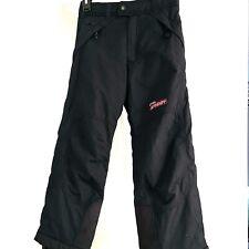 Spyder Ski/Snowboard Pants Kids Boys Youth Size 8 Black