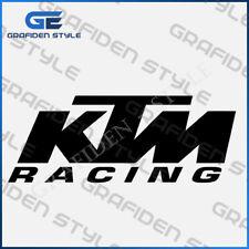 1 stück - KTM RACING  - Auto ,Motor, Cross, Biker Aufkleber - Sticker - Decal  !