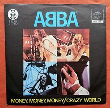 ABBA-MONEY,MONEY,MONEY YUGOSLAVIAN 7'' PS 1977 UNIQUE LABEL