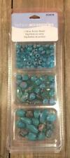 Fashion Accessories Teal Turquoise Acrylic Bead Set Jewelry Making Crafts