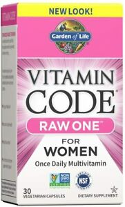 Garden of Life Multivitamin for Women, Vitamin Code Raw One for Women, Once...