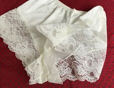 """Vintage Style Nylon French Knickers Panties 26"""" - 40"""" M 14-16"""