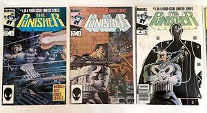 Punisher Limited Series #1-5 LOT🔥NM🔥HIGHGRADE🔑KEY🔑 Spiderman X-Men  Avengers
