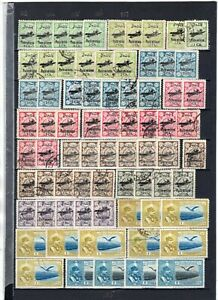 Postes Persanes 1928-53 Airmails Dealer Stock Mint-Used 323 Stamps