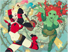 HARLEY QUINN & POISON IVY #5 (NM) JOSHUA MIDDLETON VARIANT SET - CONNECTING DC