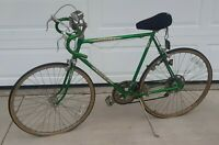 VTG schwinn varsity 10 speed Green mens Bicycle Bike 1970s TOLEDO OHIO PICK UP