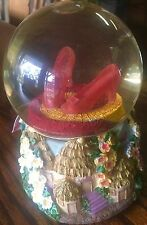 Westland The Wizard of Oz Clicking Ruby Slippers Musical Snow Globe NEW,