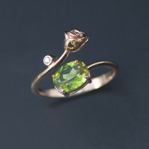 Color change sultanit rose ring solid 925 sterling silver diaspore for women new