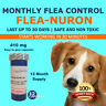 1 Year Supply MONTHLY Flea Control For Dogs 45-90 Lbs. 410 Mg PB 12 Capsules