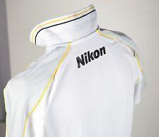 NEW Authentic Nikon Photographer Polo Shirt Tee Size M MEN D810 D750 D4S DF USA