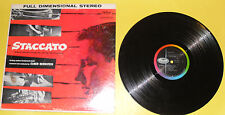 Staccato – John Cassavetes Television Production Sound Track 1959 LP Great Pics!