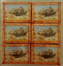 Lot of 6 1991 Pacific Desert Shield Complete 110 card factory sealed set.