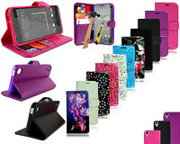 For HTC Desire 530 New Leather Book Wallet Phone Case Cover + Tempered Glass
