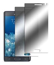 2 x Samsung Galaxy Note Edge Spiegelfolie Displayschutzfolie Folie Mirror Screen