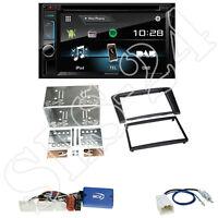 Kenwood DDX4017DAB Radio +Toyota Avensis (T25) 2-DIN Blende schwarz +LFB Adapter