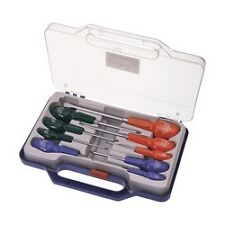 Universal 9 Piece Cabinet Pattern Screwdriver Set  Staight Star Philips