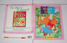 Album WINNIE THE POOH Walt Disney Panini 1999 COMPLETO Figurine stickers