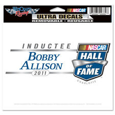 "2011 NASCAR HALL OF FAME BOBBY ALLISON DECAL 4"" X  6"""