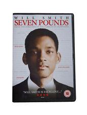 Seven Pounds DVD As New & Sealed  Will Smith, Elpidia Carrillo, Bill Smitrovich,