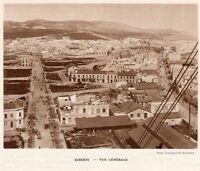 BIZERTE BANZARTE VUE GENERALE OVERVIEW TUNISIE TUNISIA IMAGE 1939 PRINT