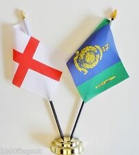 England & Royal Marines Signals & Telecom Branch Double Friendship Table Flags