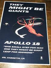 They Might Be Giants 'Apollo 18' Poster