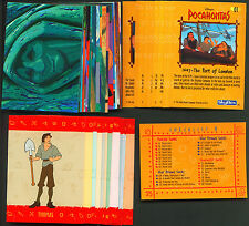 1995 Skybox Pocahontas Trading Card Set with Pop-outs (90+12) NM/MT