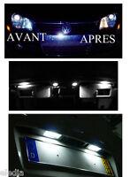 KIT 9 Ampoules LED éclairage Blanc xenon plaque veilleuses habitacle  Pour EOS