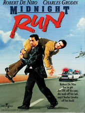 Midnight Run (1988) Robert De Niro mafia movie poster print