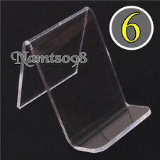6-pack Easel Holder Rack Display Stand artwork Photo Phone Accessories/Acrylic