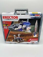 Meccano Erector Space Set By Meccano 3 Models New In Tote Target Exclusive