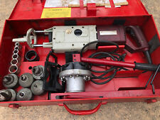 T Drill T55 Copper Pipe T Forming Tool And Notcher 60 65 50