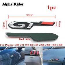 1pc Front /Rear GT Decals Stickers Badge Trim For Peugeot 208 308 2008 3008 5008