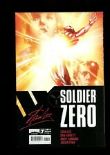 SOLDIER ZERO 7 (9.8)  COVER A STAN LEE BOOM (b000)