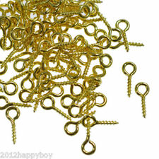 Wholesale 300pcs Gold Plated Eye Peg Bail Pins Needles Jewelry Findings 8x4mm