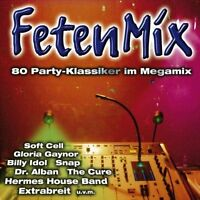 FetenMix-80 Party-Klassiker im Megamix (2002) Harpo, Dominoe, Silent Ci.. [2 CD]
