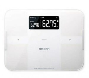 OMRON HBF-255T-W Body Composition Monitor body Scan White Fast Ship Japan EMS