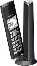 Neues AngebotPanasonic KX-TGK220GM Design-Telefon mit Anrufbeantworter & Wecker