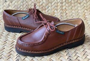 PARABOOT Michael/Marche Brown Leather Derby Size EU 41 | US 8 | UK 7