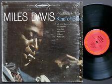 MILES DAVIS Kind Of Blue LP COLUMBIA CS 8163 US 1977 Bill Evans John Coltrane RE