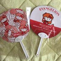 Hello Kitty & Evangelion Aska Langley Collaboration Japan Fan Utiwa Sanrio