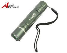 TrustFire TR-801 XPE Q4 LED 150 Lumens 3-Mode 4.2V Flashlight Torch Green